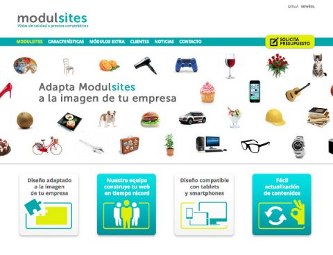"""Neix """"modulsites"""", webs de qualitat a preus competitius."""