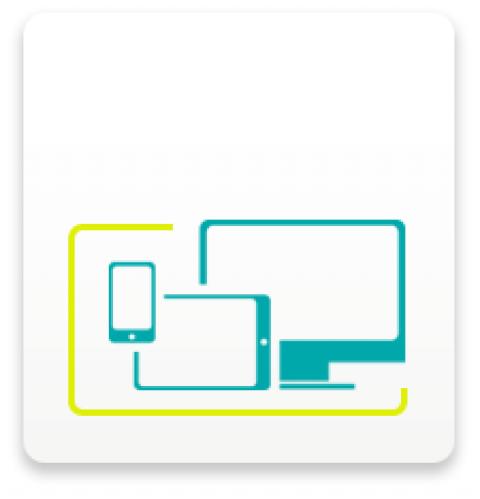 Diseño compatible con tablets y smartphones